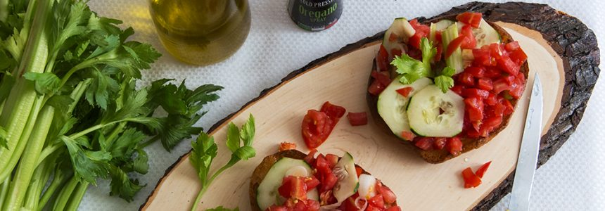 Summer Fresh Bruschetta