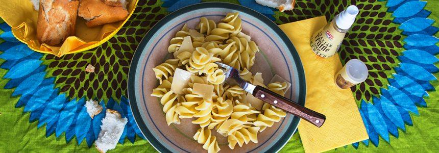Fusilli tartufo e crema di parmigiano